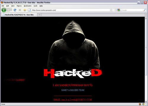 how to hack into a website and change it